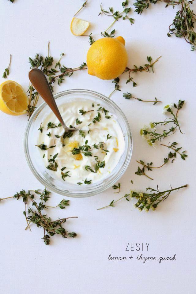 Lemon-Thyme Quark // Poppy Haus