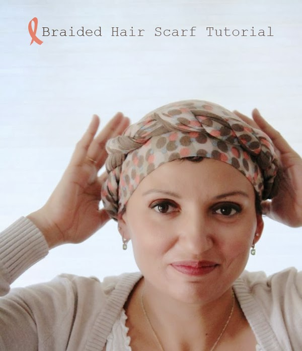 How to make braided crown after chemo // poppy haus