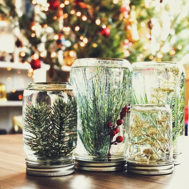 Mason Jar Decorations Part - 18: DIY Underwater Forest