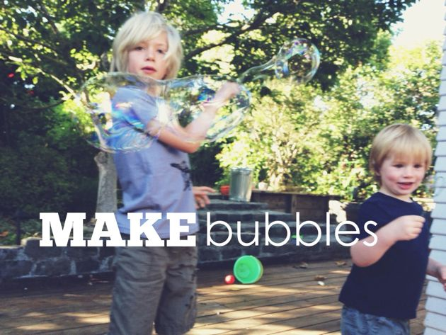 Martha Stewart's Bubble Recipe // Road Tested // Poppy Haus