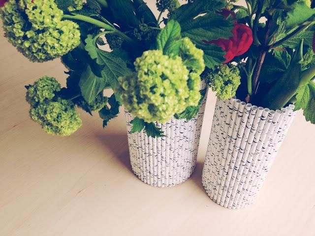 Birch Paper Vase Tutorial // Poppy Haus