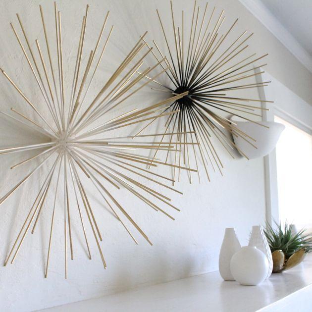 DIY Boom Wall Sculpture // Poppy Haus