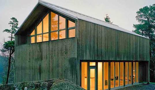 Modern Viking dwelling