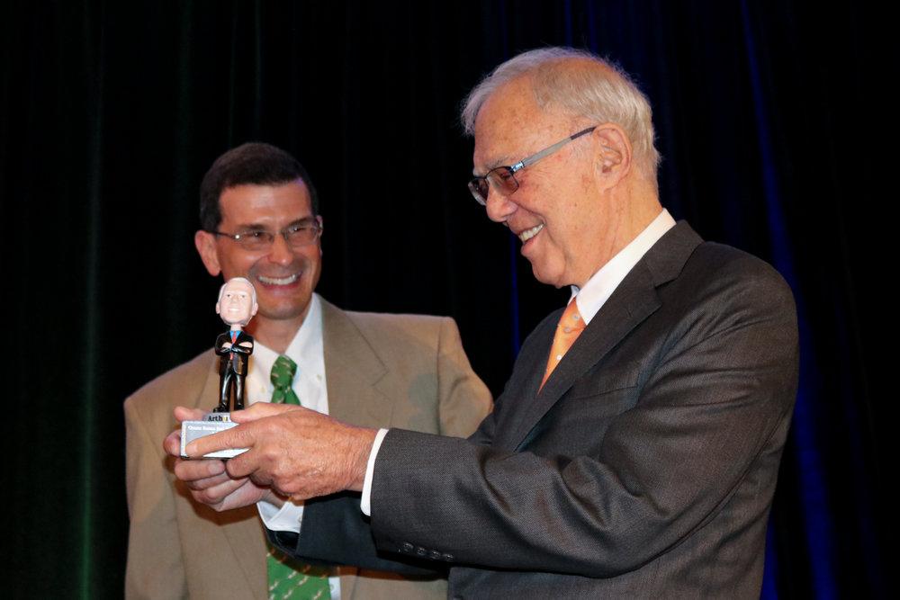 Receiving my Neighborhood Visionary Award from  Greater Boston Real Estate Board CEO, Greg Vasil .