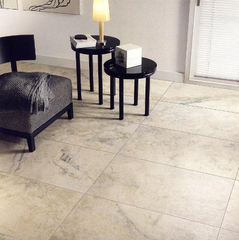modern bathroom with large floor tiles decoist porcelain tiles