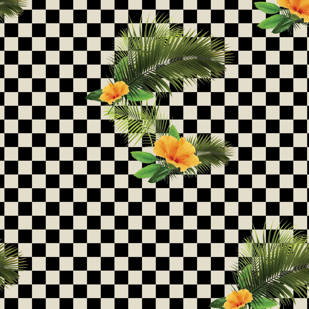 Checkerboard Floral - 10deep