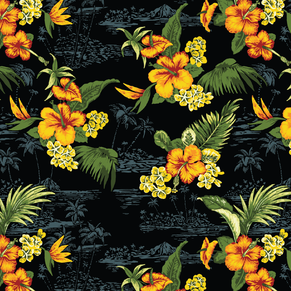 Hibiscus Print - 10Deep