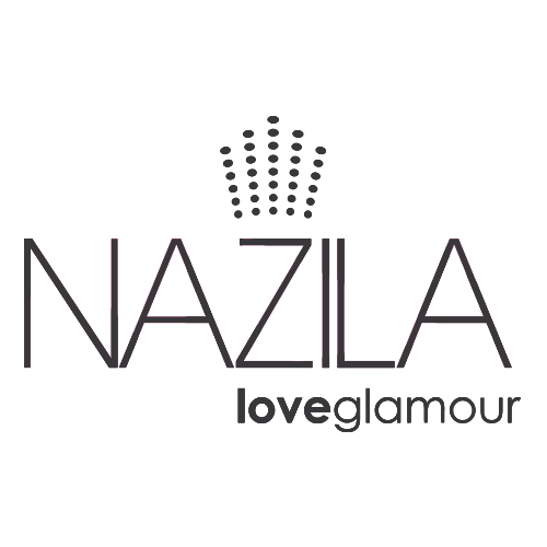 NAZILA LOVE GLAMOUR Nazila Love Glamour is an innovative nail company encompassing LED Gel Nails and Nail Glitz stick-on nails. With over 195 custom-made nail gel colours to choose from, including 18 unique Diamond Encrusted Gel Colours Nazila have more gel nail colour options than any other LED gel nail range worldwide. They also offer a range of reusable 3D Nail Glitz stick-on nails.