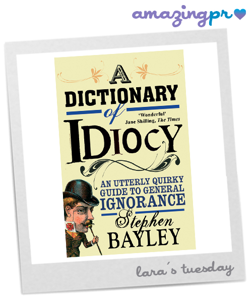 A dictionar of idiocy