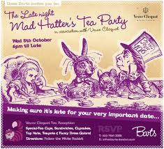 Bart's Mad Hatter's Tea Party