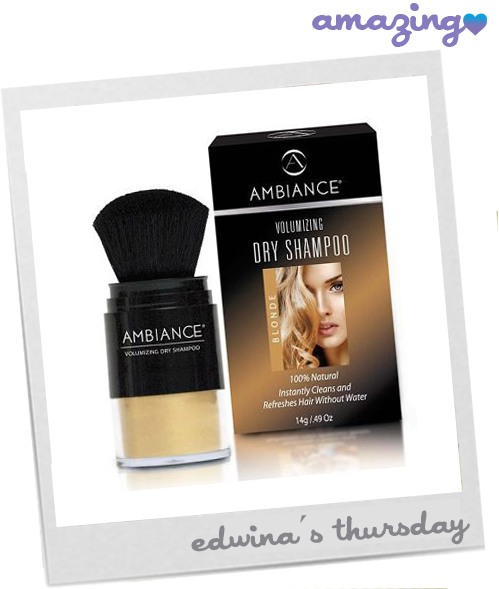 Ambiance dry Shampoo blog image