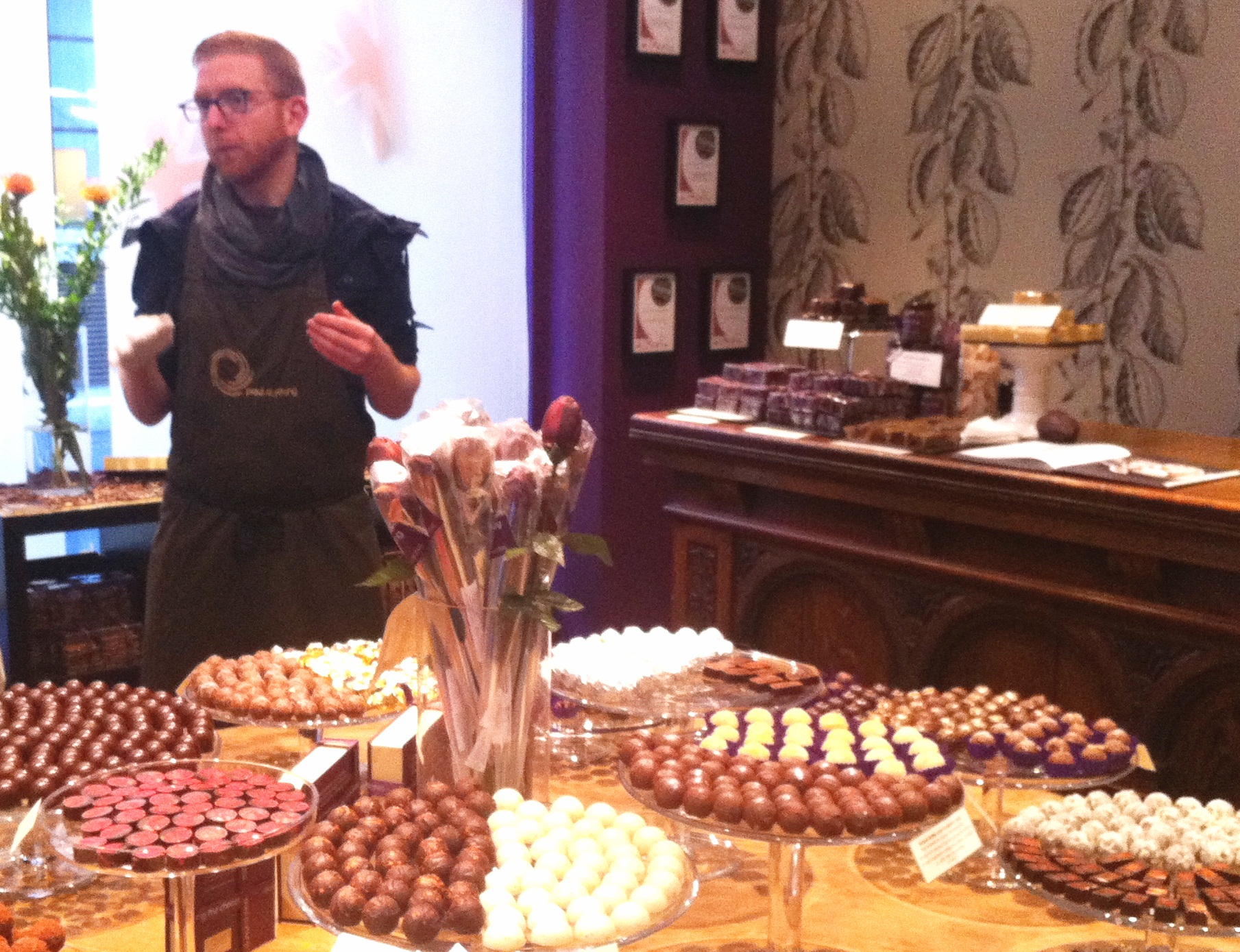 Paul's shop - Mayfair Chocolate Ecstasy Tour