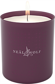 neal and wolf candle image