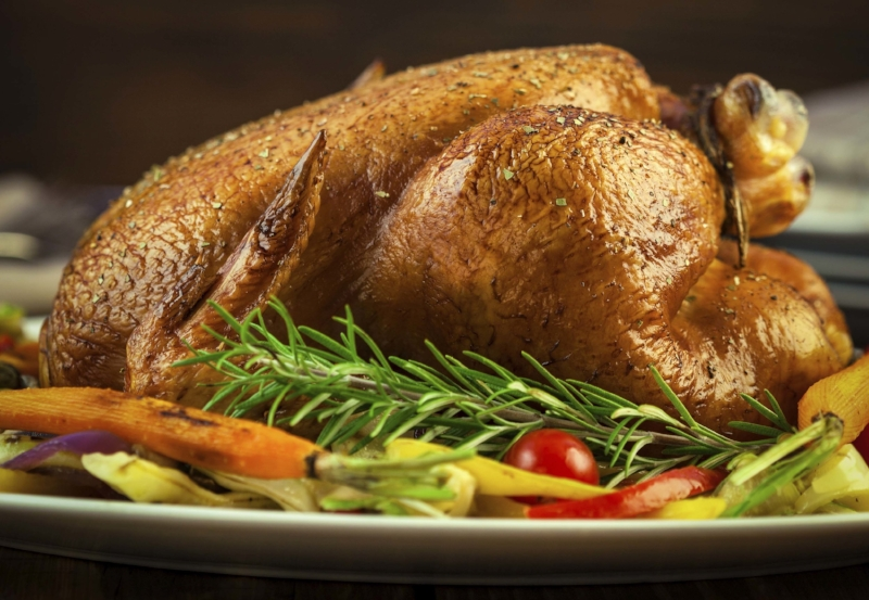 "Customer Feedback: ""Thanks for the great turkey dinner! Everything was so tasty!"""
