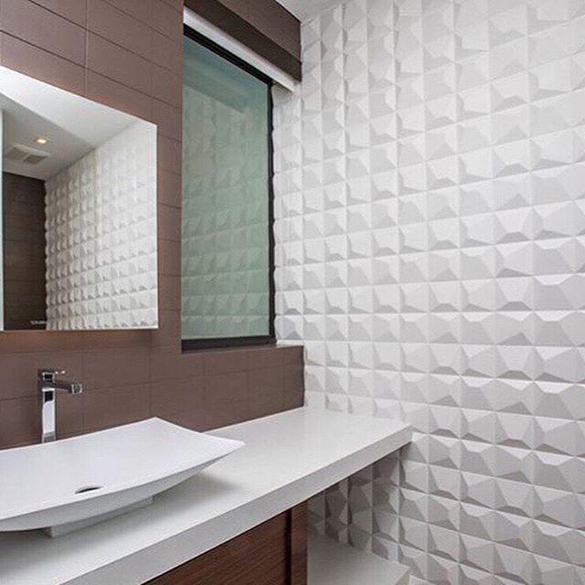 Modern classy touch with @wow_designeu #repost #interiordesign #bathroomdesign #bathroomremodel #tileandstone #tiletrends #tileandstone #porcelaintile #moderntile #moderndesign #moderndecor #3dtiles #whitetiles #oaklandrealestate #eastbayrealestate #bayarea #eastbaycommunity #eastbayhomes #homeaccents #walltilesdesign #saturdayinspiration
