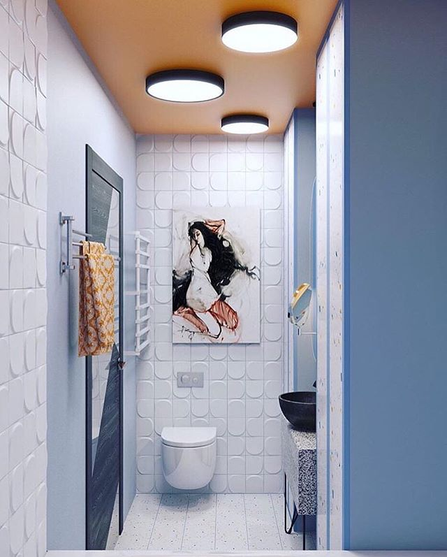Just can't help not to share - @wow_designeu tile and @svetlana__yurkova design  #repost #tilestonetrends #interiordesign #bathroomdesign #walltiles #porcelaintile #moderntile #creativelife #mondayinspiration #eastbayrealestate #bayarea #oaklandrealestate