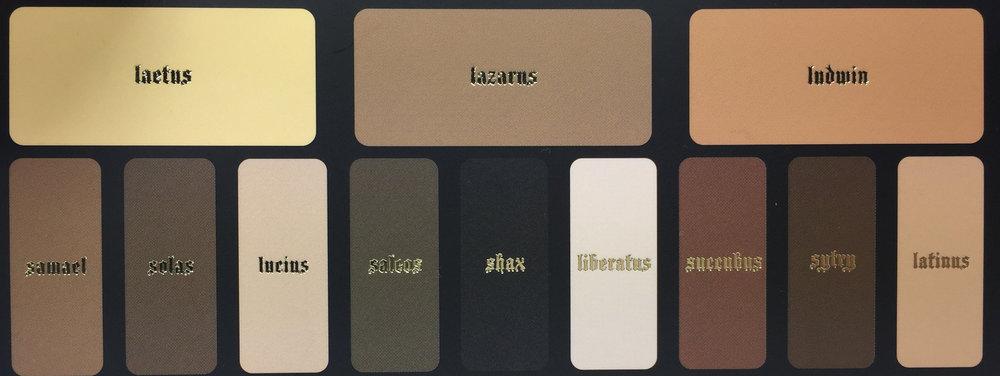 Shade + Light Palette Names Before