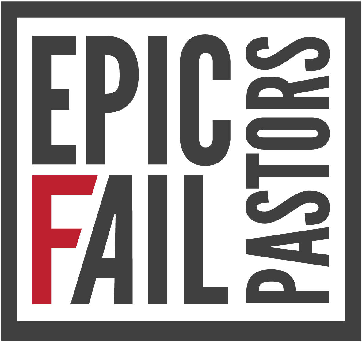 Epic Fail Pastors Events