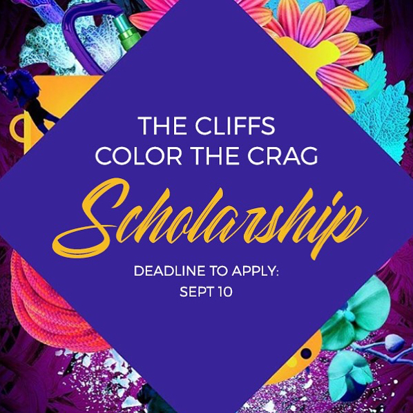 The Cliffs is excited to offer a scholarship to the @colorthecrag festival at Horse Pens 40 in Steele, Alabama from 10/18-10/21! The festival celebrates diversity in climbing + the outdoors and is hosted by @boccrew and @browngirlsclimb.  The winner will receive entry to the festival and round-trip travel from NYC. Apply via our website or the link in our bio📝  REQUIREMENTS This scholarship is open to POC climbers who are residents of NYC  DEADLINE September 10