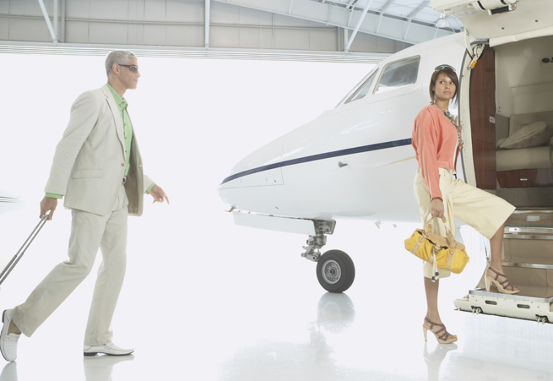 Luxury travel at DuPage Airport aircraft charter