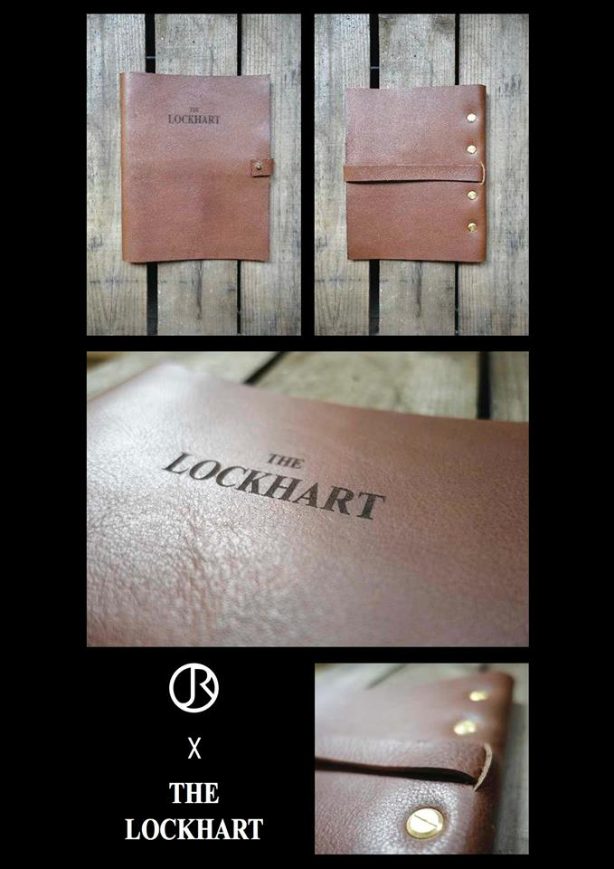 We were commissioned by The Lockhart restaurant to design and make some unique leather drinks menu holders for their trendy southern american restaurant in Marylebone, London. These beautifully crafted menus were laser engraved.