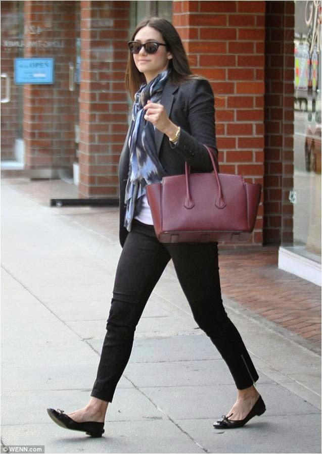 Emmy Rossum in Strom Jeans