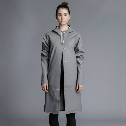 Stutterheim Stockholm Long Jacket Grey