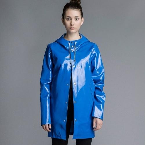 Stutterheim Opal Jacket Blue