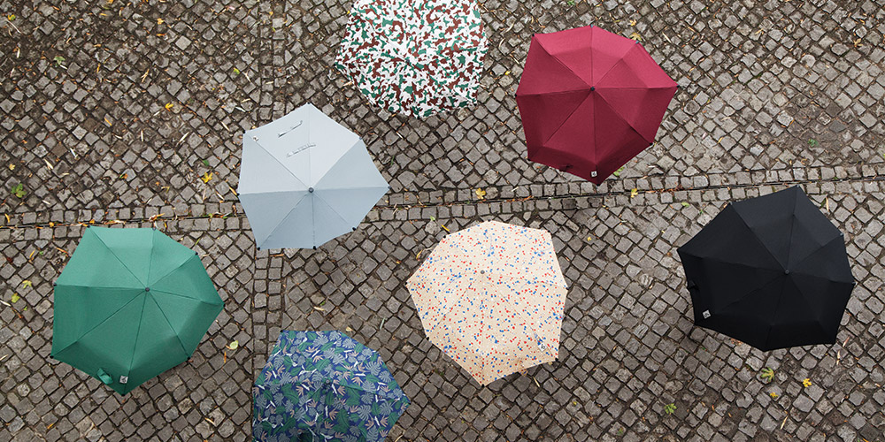 Senz Umbrellas Aerial View