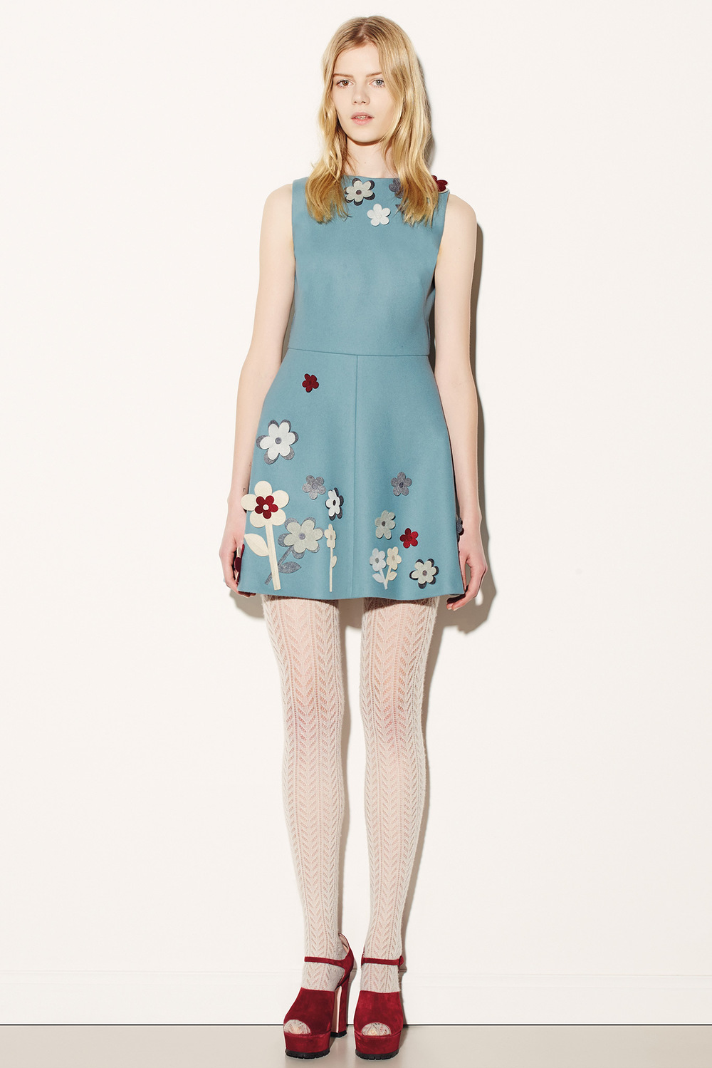Red Valentino Dress Fall 2015