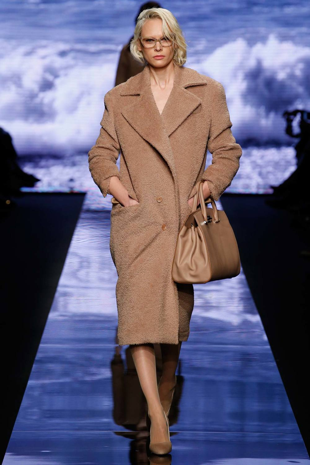 Max Mara Camel Coat Fall 2015