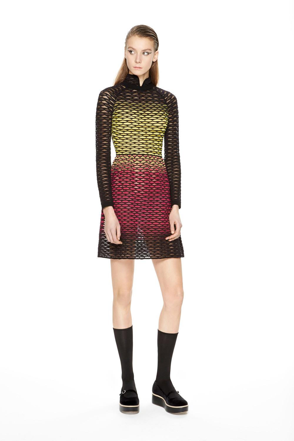 M Missoni Ombre Dress Fall 2015