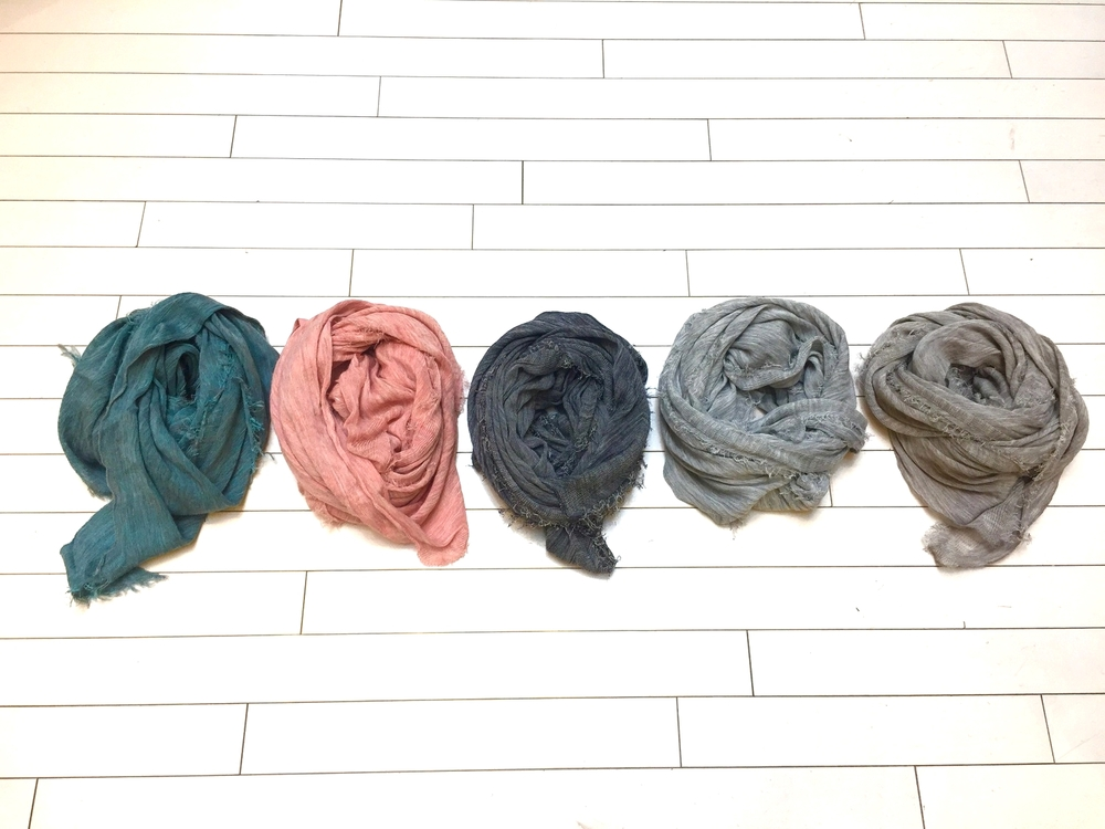 Grisal Scarves at Mercantile