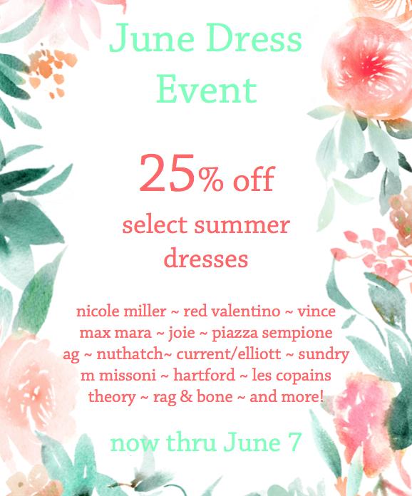 June Dress Event