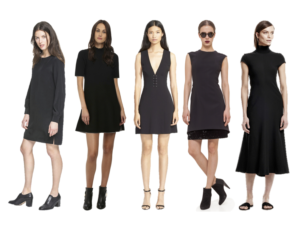 Leo & Sage Shift Dress, Theory Lakelyn Dress, A.L.C. Jacobson Dress, Akris Punto Contrast Hem Dress, Theory Kadrayel Dress