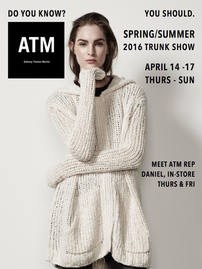 ATM Trunk Show