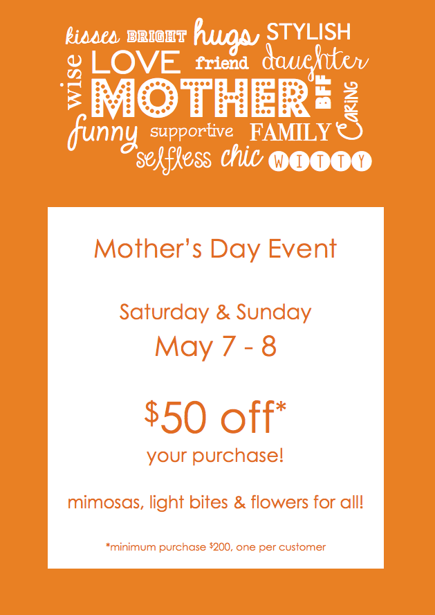 Mother's Day Event 2016