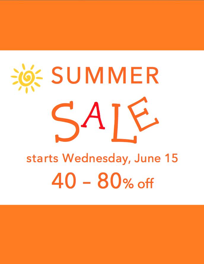 Summer Sale 2016