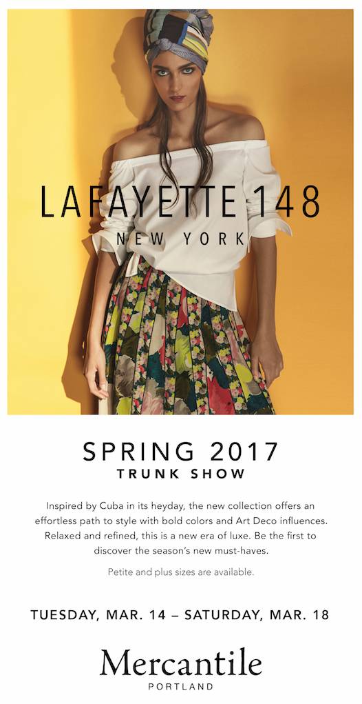 Lafayette 148 Spring Trunk Show