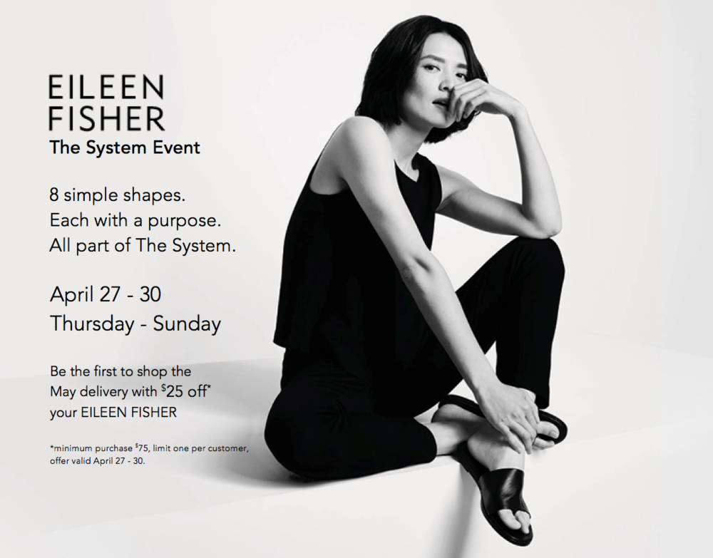Eileen Fisher System Event