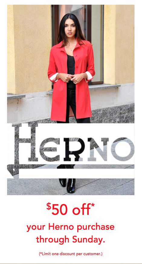 Herno Spring Event