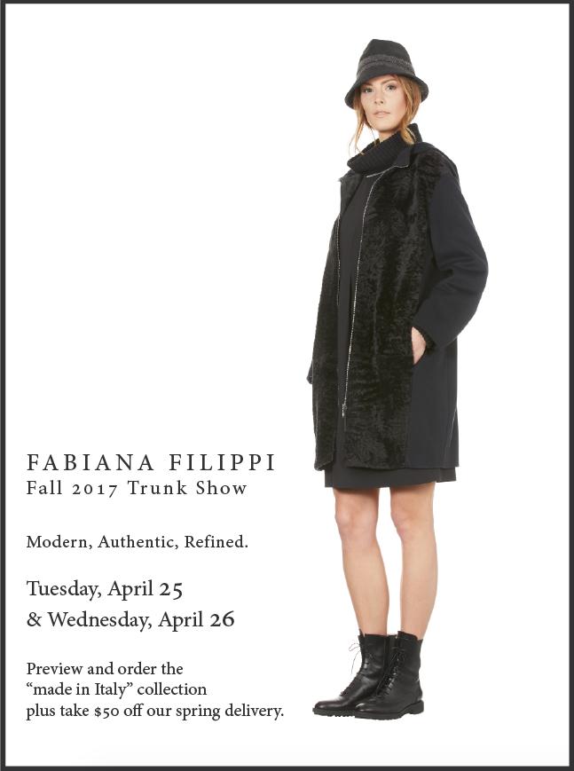 Fabiana Filippi Trunk Show