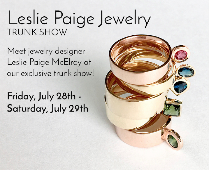 Leslie Paige Trunk Show