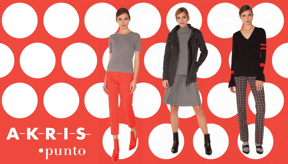 $50 OFF YOUR AKRIS PUNTO PURCHASE