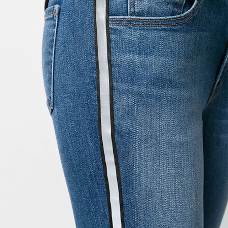 Tuxedo Stripe - A little sporty, a little flashy, totally perfect.J Brand 811 Mid-Rise Skinny, $248