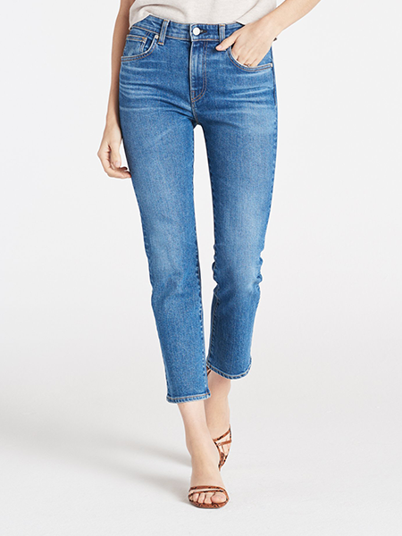 Vintage Inspired - Perfectly distressed with just the right amount of stretch.CQY Friend Jean, $260