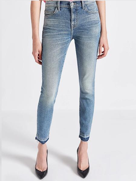 Released Hem - Not your average skinny jeans.Current/Elliott Stiletto Jean, $228