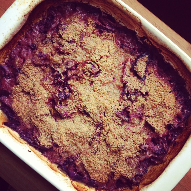 red cabbage gratin 3