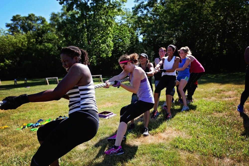 Tug of War - Outdoor Boot Camp
