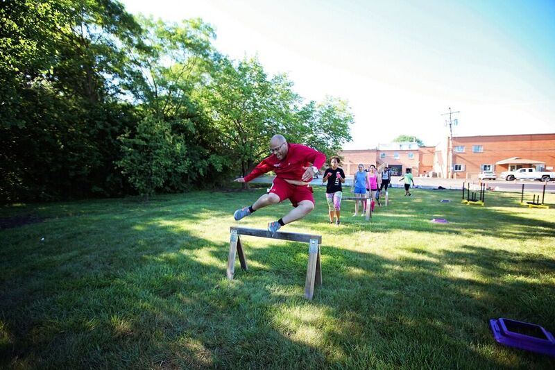 Hurdles - Outdoor Boot Camp